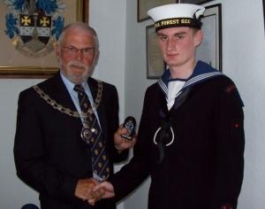 Ordinary Cadet Scott Ross